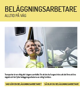 Yrkesblad - Beläggningsarbetare