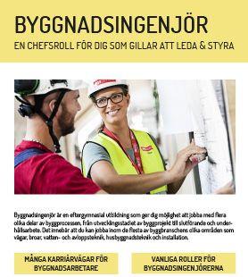 Yrkesblad - Byggnadsingenjör