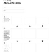 iPraktiken elev - Uppgift: Mina intressen