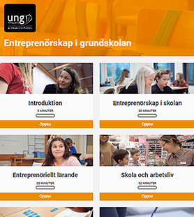 Entreprenörskap i grundskolan