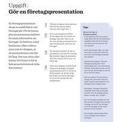 iPraktiken elev - Uppgift: Gör en företagspresentation