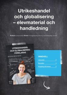 Utrikeshandel och globalisering förklaras - lärarhandledning