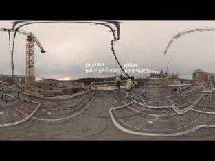 Betongarbetare- ett virtuellt arbetsplatsbesök