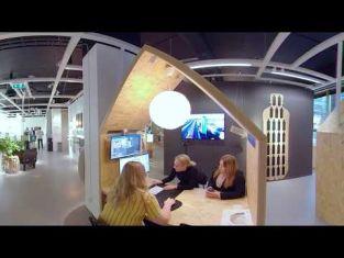 Butikssäljare- ett virtuellt arbetsplatsbesök