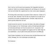 iPraktiken företag - Exempel på internt mejl