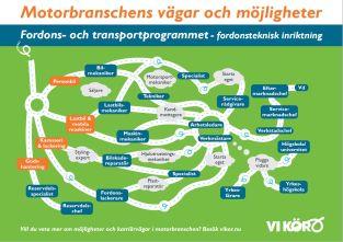 Motorbranschens vägar och möjligheter- affisch