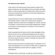 iPraktiken skola - Exempel på brev till målsman