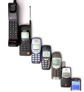 Mobiltelefonens historia