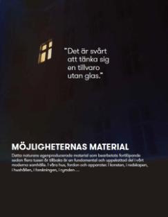 Glas - möjligheternas material