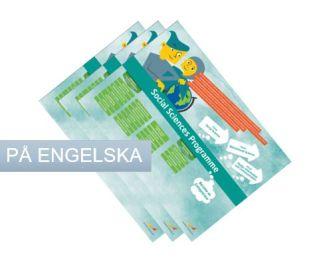 Framtidskartor på engelska, samling, högskoleförberedande program