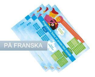 Framtidskartor på franska, samling, yrkesprogram