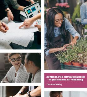 Svenska för entreprenörer, lärarhandledning och inspiration