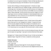 iPraktiken företag - Exempel på välkomstbrev