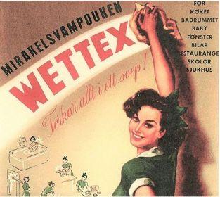 Wettex – en svensk uppfinning