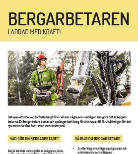 Yrkesblad - Bergarbetaren
