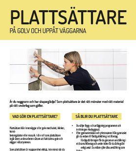 Yrkesblad - Plattsättare