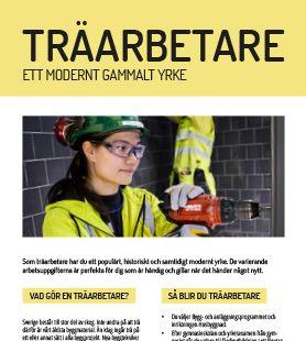 Yrkesblad - Träarbetare