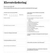 iPraktiken företag - Elevutvärdering