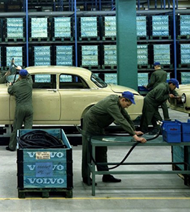 Ett teknikskifte inom bilbranschen