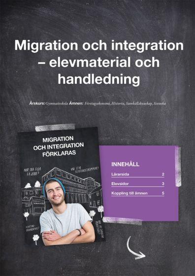 Migration och integration förklaras - lärarhandledning