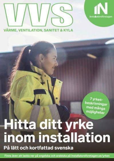 Hitta ditt yrke inom installation - på lätt svenska