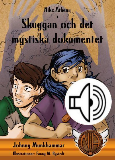 Skuggan och det mystiska dokumentet - Ljudbok