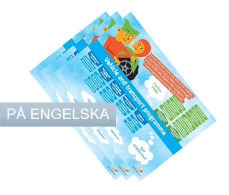 Framtidskartor på engelska, samling, yrkesprogram