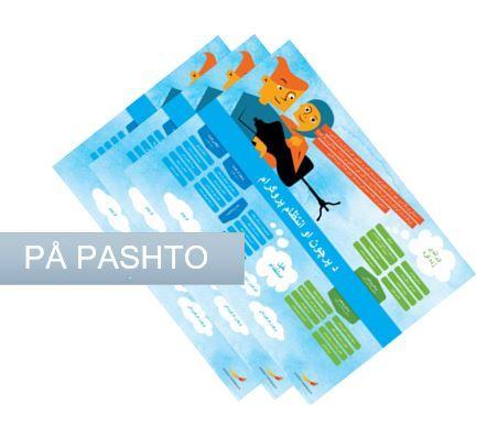 Framtidskartor på pashto, samling, yrkesprogram