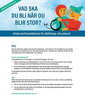 Vad ska du bli när du blir stor? Svenska