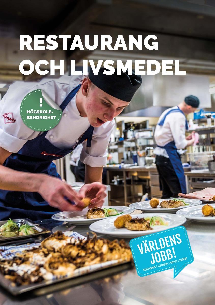 Världens jobb: Restaurang- och livsmedelsprogrammet