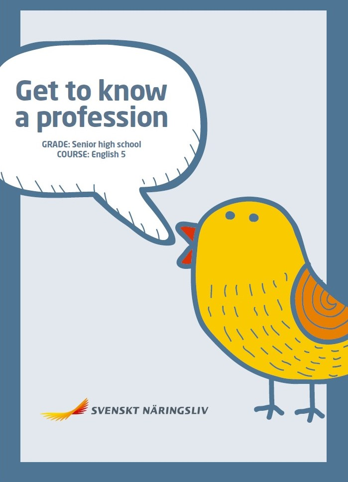 Get to know a profession